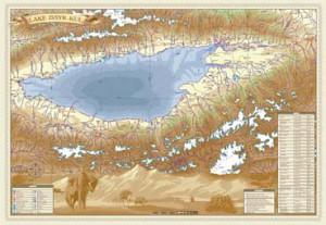 карта Иссык-Куля